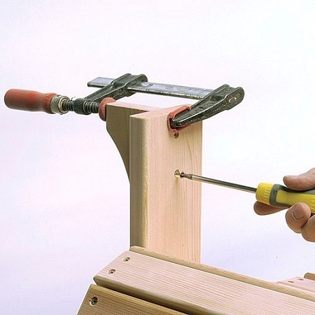 Installling The Arms For Adirondack Chair