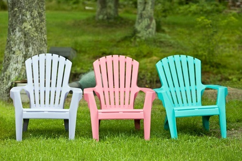 Colored PVC Chairs