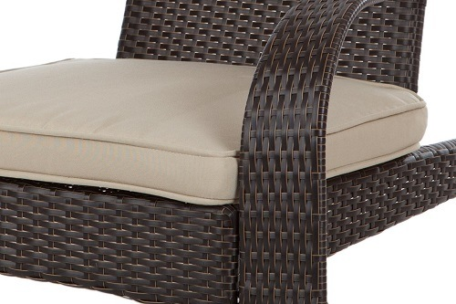 Patio Sense Coconino Wicker Adirondack Chair