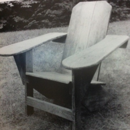 Adirondack Chair By Thomas Lee