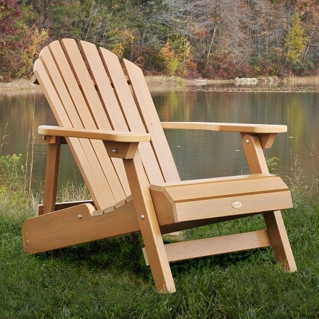 Wood Adirondack Chairs Sitting