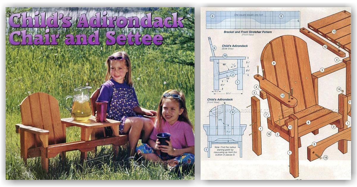 Children S Adirondack Chair Plans Adirondackchairshq Com