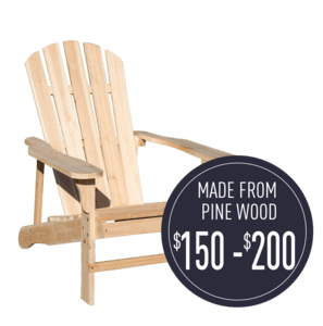 Adirondack_made from Pine-wood