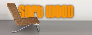 Material_Softwood chaise Lounge