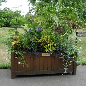 Paneled Planter